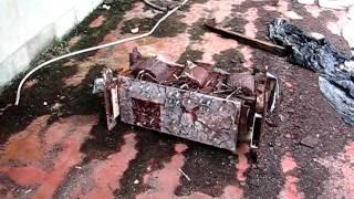 Creepy Abandoned Radio Tower
