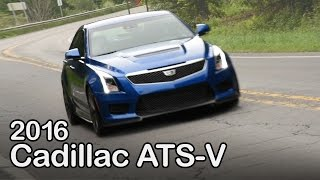 2016 Cadillac ATS-V Review: Curbed with Craig Cole