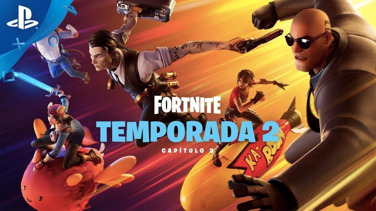 FORTNITE Capítulo 2 TEMPORADA 2 - Trailer en ESPAÑOL| PlayStation España