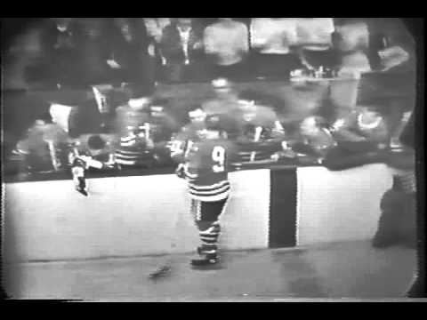 Bobby Hull 50th and 51st goal