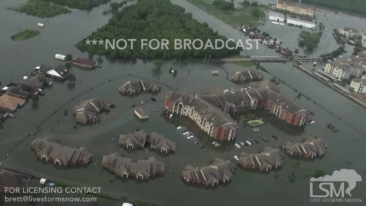 8 31 2017 Beaumont Tx Dramatic Flood Video From