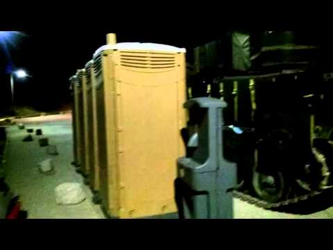 Chinook Helicopter VS Trash Can 2