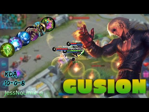 Gusion Rampage 2:39 Mins And 5 Kills By JessNoLimit.ღ - Mobile Legends