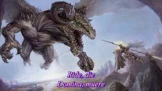 Rhapsody Of Fire - Dark Wings Of Steel (Subs - Español - Lyrics)