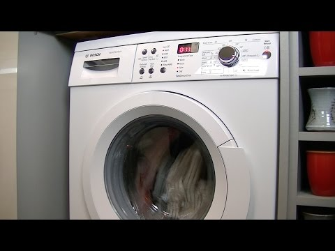 How To Identify An Error Code On A Bosch Washing Machine
