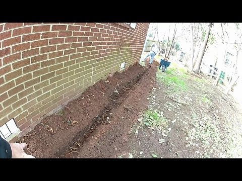 French Drain - Downspout  Drain Install , Do It Yourself For Homeonwers