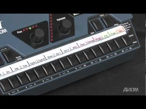 Making Color-Coded Labels for the Aviom A-16II Personal Mixer - YouTube