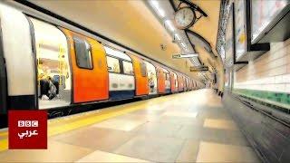 قضبان معلقة في شبكة مترو الانفاق في لندن - 4tech