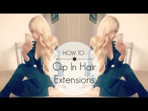 How To Clip In Bombay Hair Extensions + Giveaway (closed) | HAUSOFCOLOR