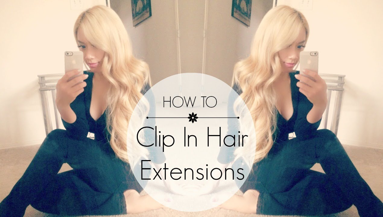 How To Clip In Bombay Hair Extensions Giveaway Closed