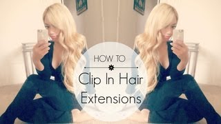 How To Clip In Bombay Hair Extensions + Giveaway (closed) | HAUSOFCOLOR Thumbnail