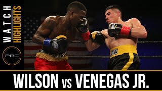 Wilson vs Venegas Jr HIGHLIGHTS: May 17, 2016 - PBC on FS1