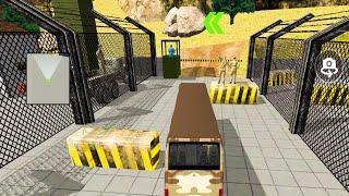 Army Bus Simulator Games 2021 - Real Military Coach Simulator GamePlay ABS002 DP65VX screenshot 3