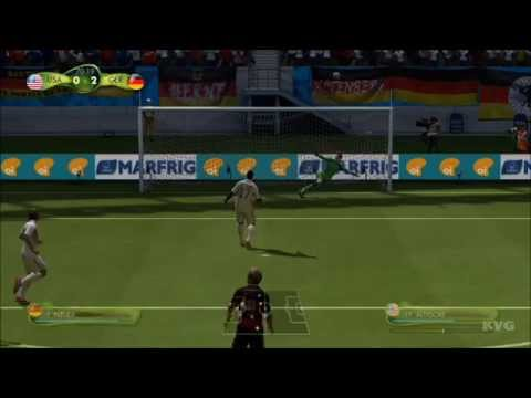2014 FIFA World Cup Brazil - United States vs Germany Gameplay [HD]
