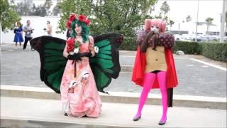 anime los angeles 2016 - madoka magica gathering