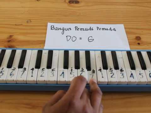Bangun Pemudi Pemuda || Pianika