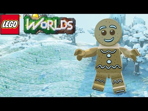 Lego Worlds - I Am A Gingerbread Man [10]