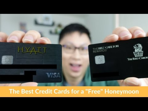 """Best Credit Cards for """"Free"""" Hotels for Memorable Trips (Honeymoons, Anniversaries, Celebrations)"""
