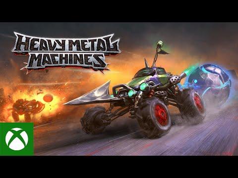 Heavy Metal Machines доступна бесплатно на Xbox One и Xbox Series X | S