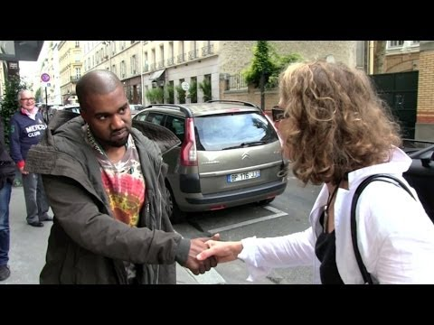 EXCLUSIVE - KANYE WEST wants to TALK more about the French and American Paparazzi