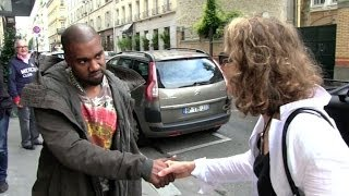 exclusive kanye west wants to talk more about the french and american paparazzi