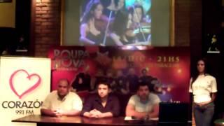 Lanzamiento Roupa Nova en Paraguay 1 Presentacion de spots