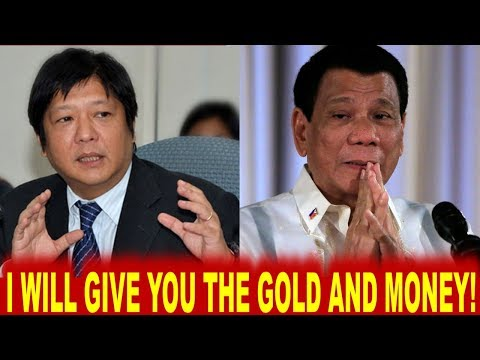 BONG BONG MARCOS PROMISED PRES DUTERTE TO SURRENDER ALLEGED ILL GOTTEN WEALTH FOR PUBLIC USE