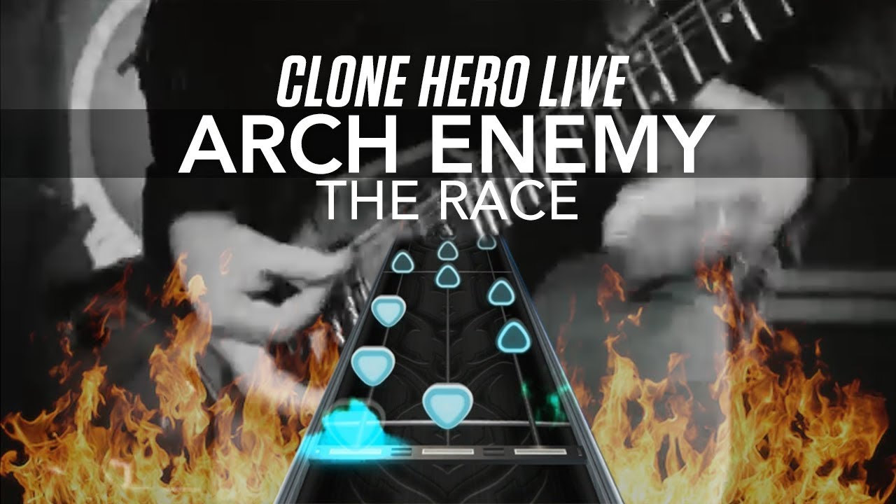 Clone Hero Live - Arch Enemy – The Race (Chart Preview + Download)