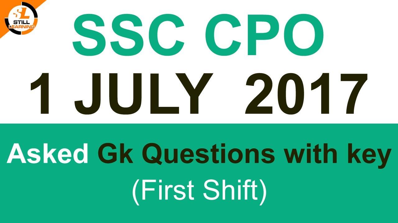 Ssc cgl 2018 key evening shift dresses