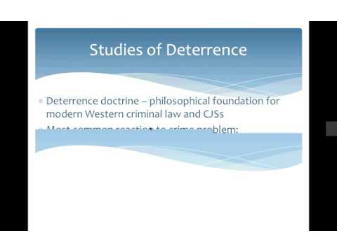 Deterrence Lecture