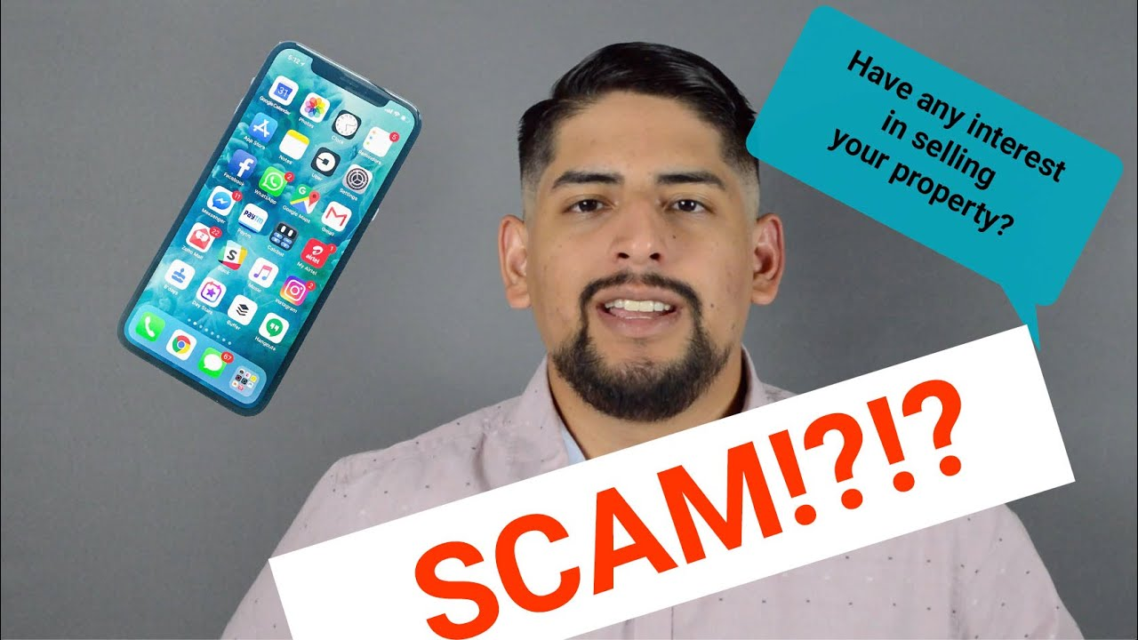 SELLER BEWARE | Unsolicited call or text to buy house | 281-713-3255