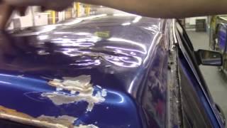 Кузовной ремонт. Крыша ВАЗ 2114. Body repair.(Body repair. Кузовной ремонт автомобилей в гараже. Подробности на моем сайте. http://remontkuzova.blogspot.ru/ Комментарии..., 2016-08-04T17:15:44.000Z)