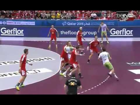Denmark vs Slovenia (4-8 plases) - Men's Handball World Cham
