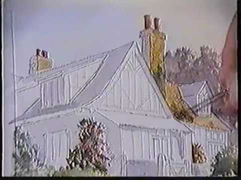 How to Paint Houses in Watercolour, Tutorial by UK Artist Martin Goode