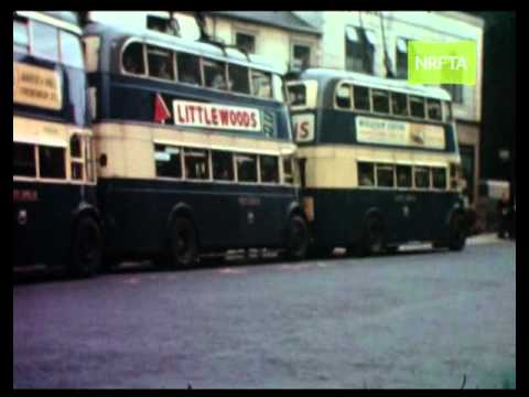 South shields king street road safety 1950 s youtube