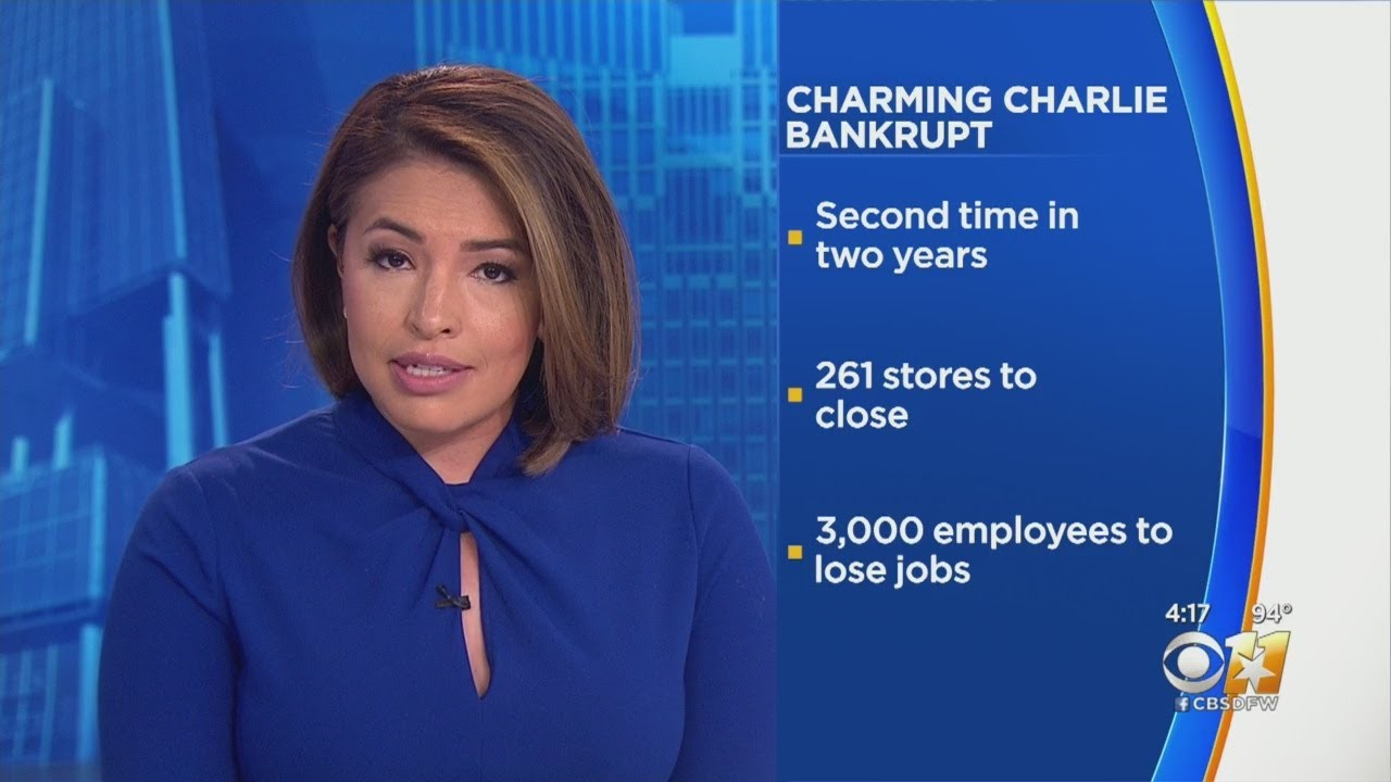 Charming Charlie, Back in Bankruptcy, to Close All Stores