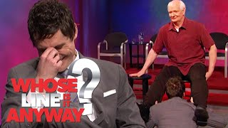 Colin Mochrie Gives Birth During Newscast | Whose Line Is It Anyway?
