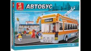 обзор конструктора Slubsn - Трамвай