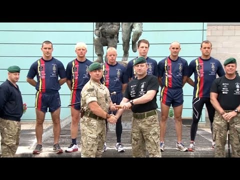 Royal Marines 1664 Challenge Continues in Lympstone 03.06.14