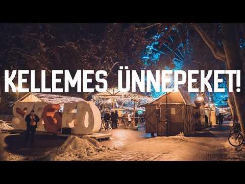 Christmas Timelapse - Szeged, 2018