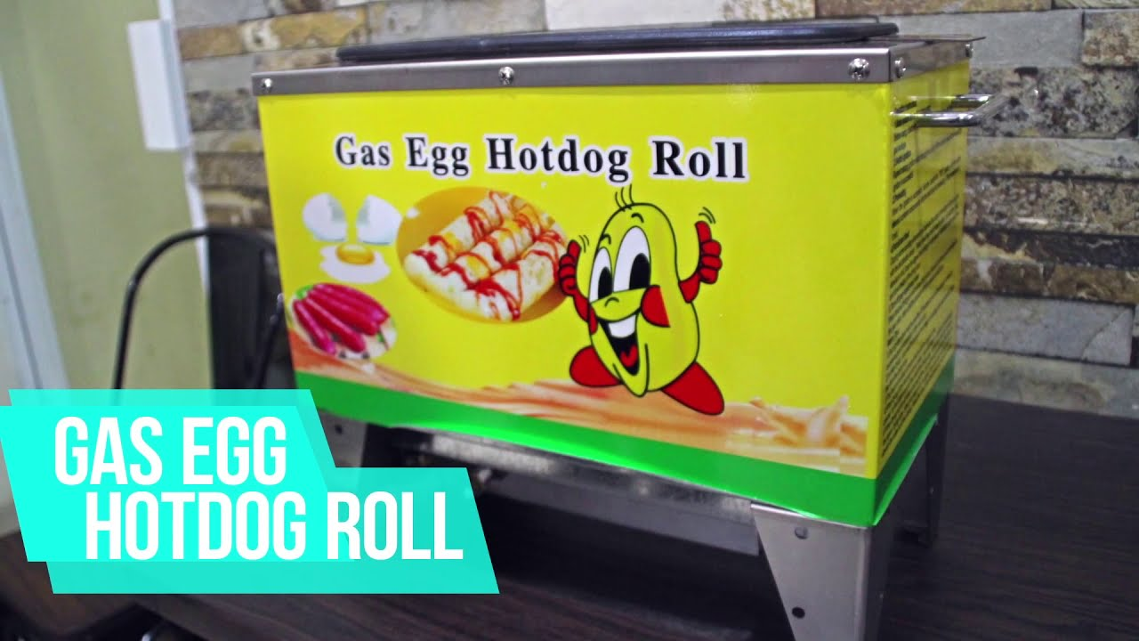 Mesin Gas Egg Hotdog Roll - Mesin Sostel - WIRATECH - YouTube