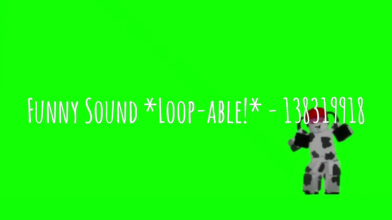 10 Roblox Funny Sound Codes Youtube