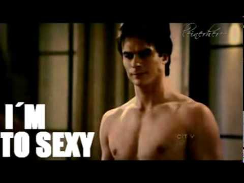 Too Sexy Ian Somerhalderdamon Salvatore Youtube