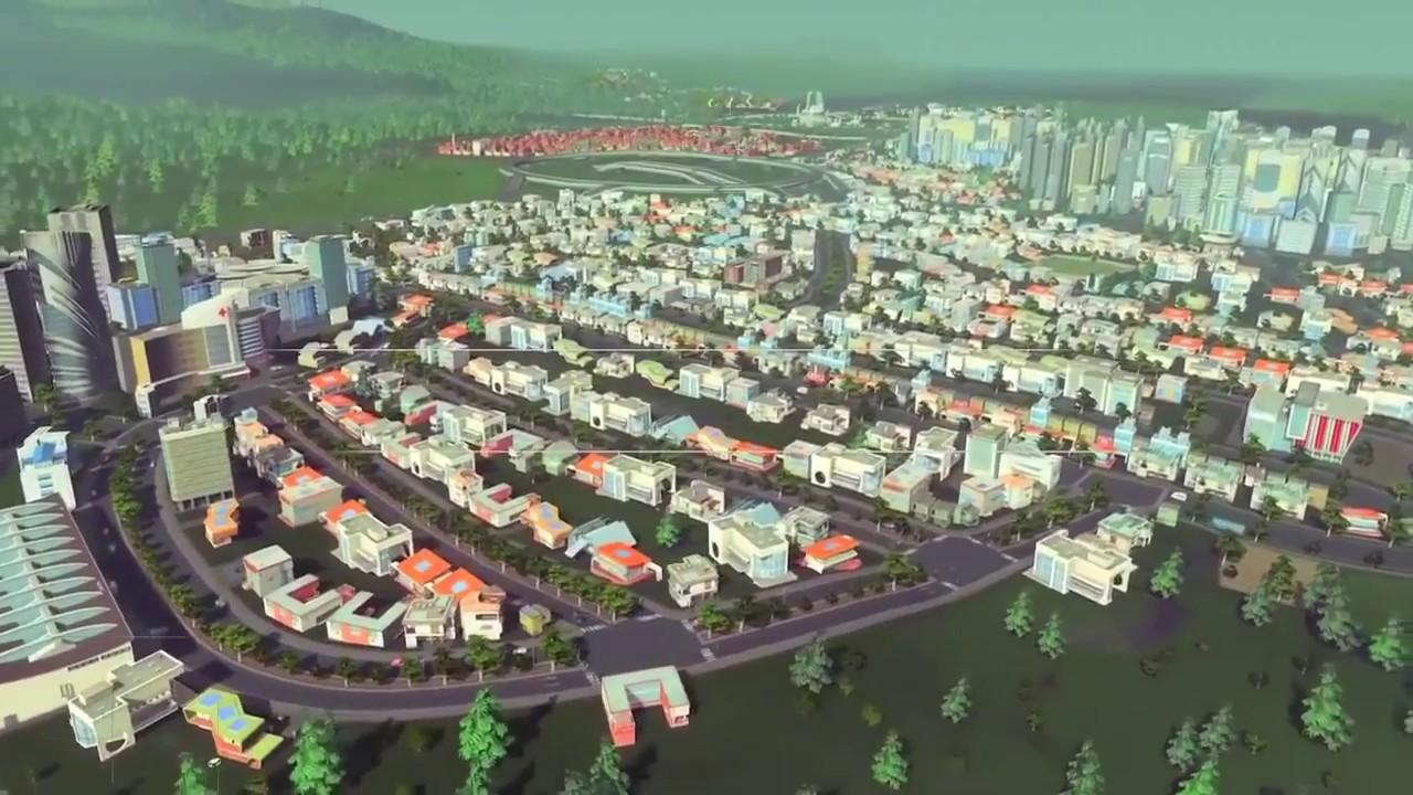 เกม Cities Skylines ถูกใช้เป็นแบบจำลองในการสร้างเมือง