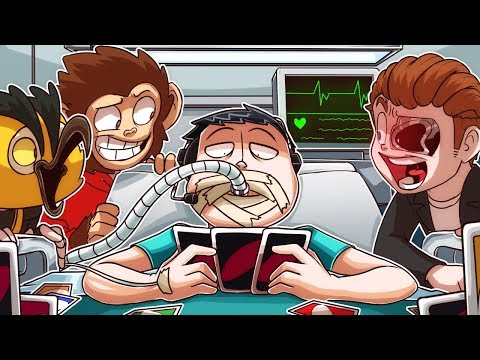 Nogla's Last DYING WISH Was To Play UNO With Us One LAST TIME! 😭😭😭