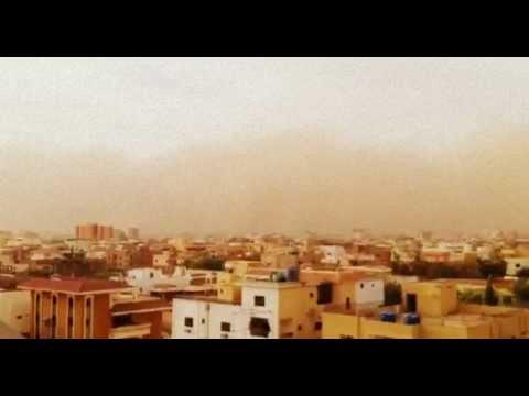 Sand Storm - Khartoum, Sudan 2013