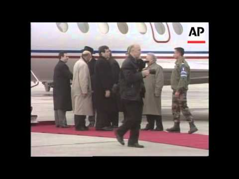 BOSNIA: YUGOSLAV PRESIDENT KOSTUNICA VISIT