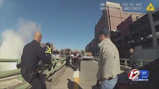 Providence police release body cam footage of officer-involved shooting