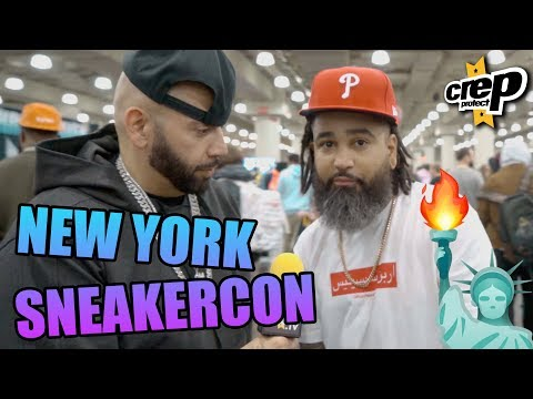 Here's What Happened at Sneakercon NYC with Mayor, TwoJsKicks - Crep Protect TV  (4K)