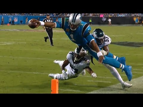 Cam Superman Newton / Crazy Attempt / Panthers vs Eagles / NFL Week 6
